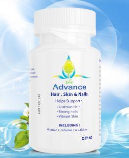 Viên uống hỗ trợ hỗ trợ điều trị rụng tóc – kích thích mọc tóc Advance