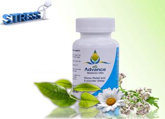 Điều hỗ trợ hỗ trợ điều trị Stress-Giải tỏa căng thẳng với The Advance Melatonin Ultra