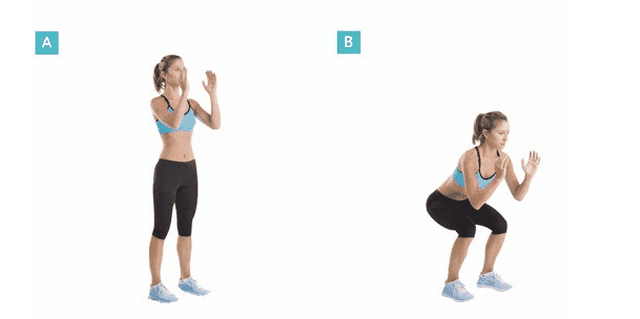 Bài tập Bodyweight Squat - Tăng vòng 3