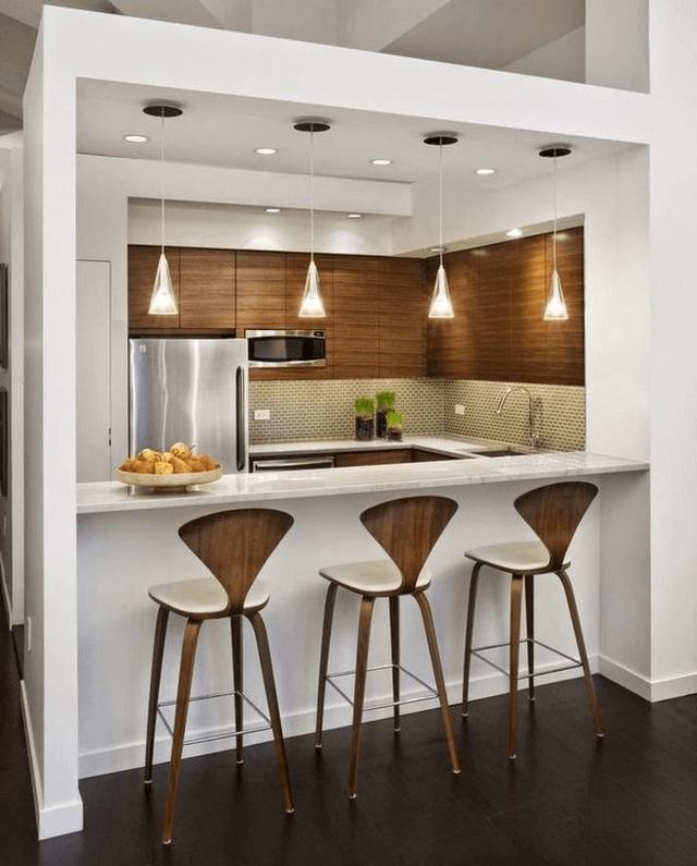 Cách sắp xếp đồ đạc hợp lí trong nhà bếp