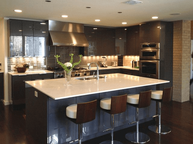 Lựa chọn màu sắc tủ bếp
