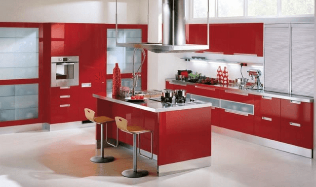 Lựa chọn màu sắc phòng bếp